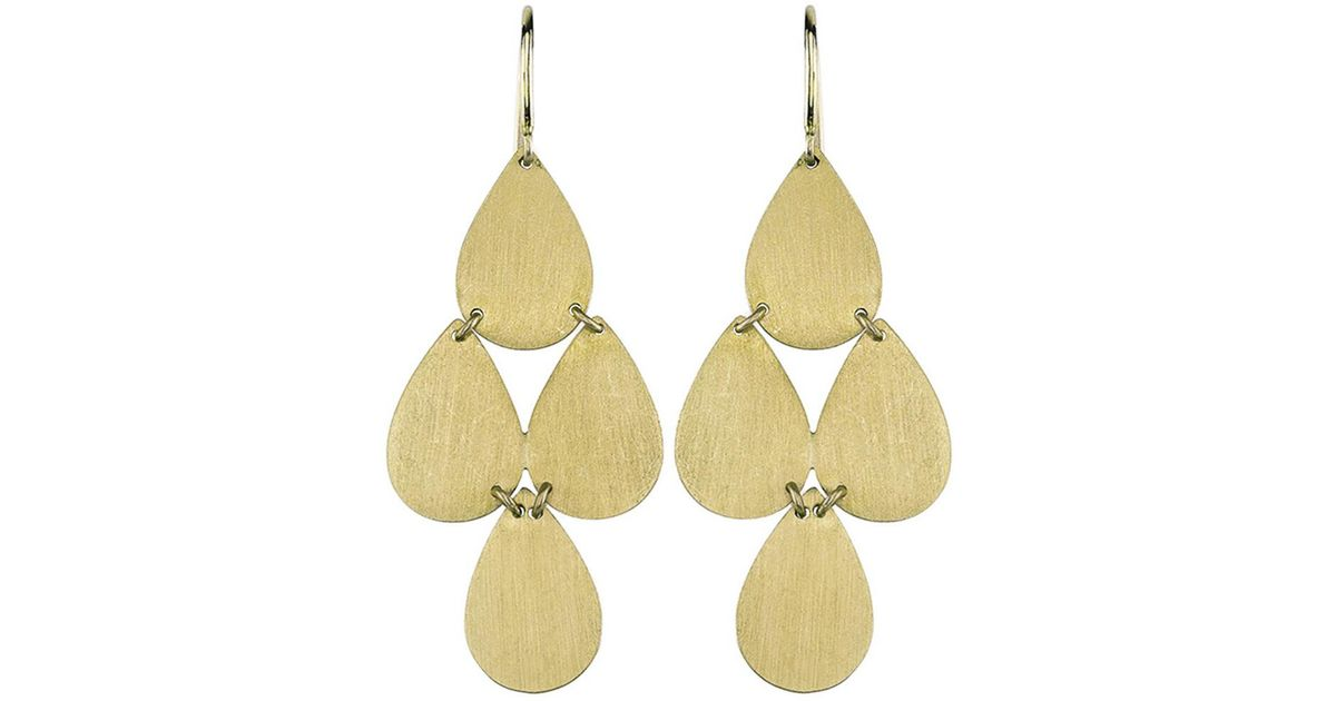 Lyst irene neuwirth signature small teardrop chandelier earrings aloadofball Image collections