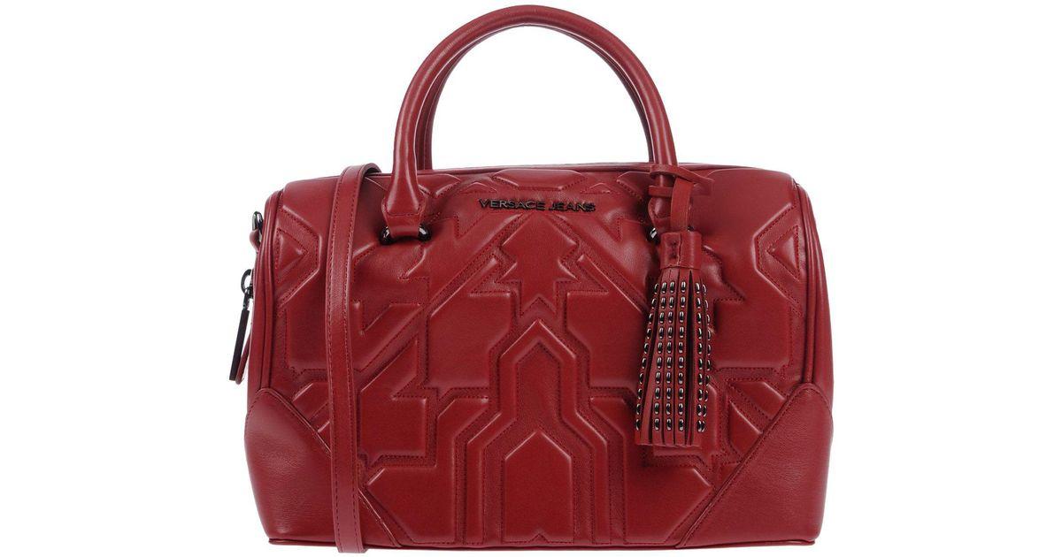 98ec725feb54 Versace jeans handbag in red lyst jpeg 1200x630 Versace jeans handbag red