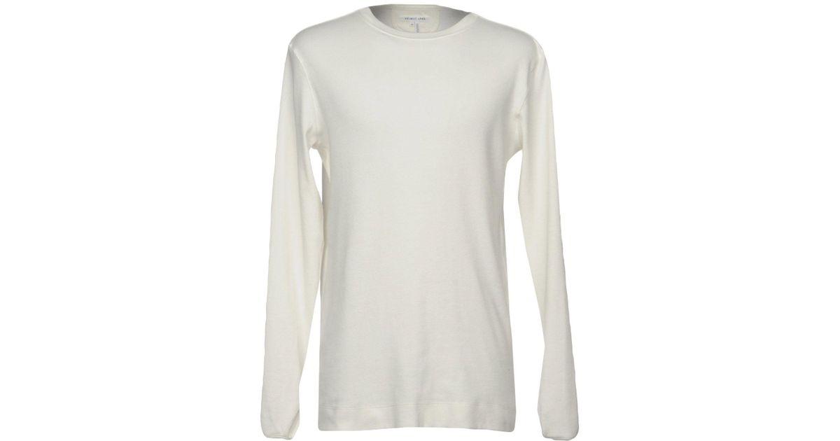 lyst helmut lang t shirt in white for men. Black Bedroom Furniture Sets. Home Design Ideas