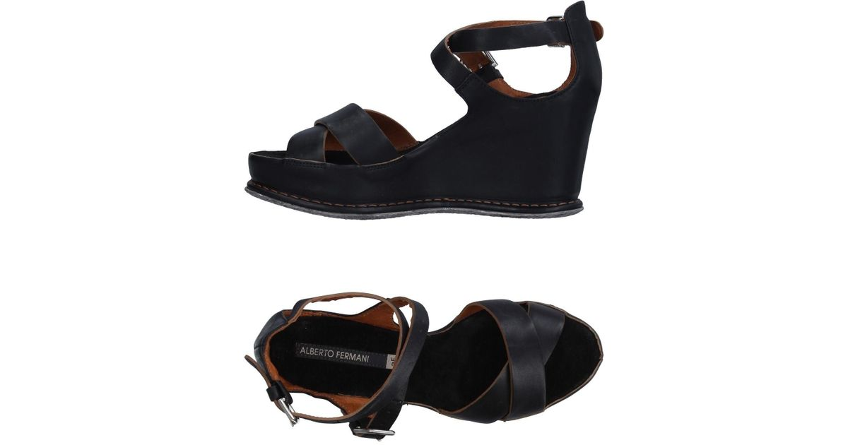 Alberto fermani Sandals in Black