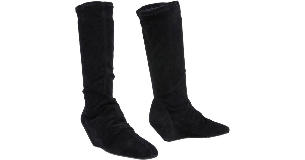 6994820058dc Lyst - Rick Owens Boots in Black