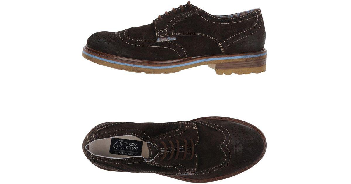 FOOTWEAR - Lace-up shoes Le Crown iQwOdB0uzs