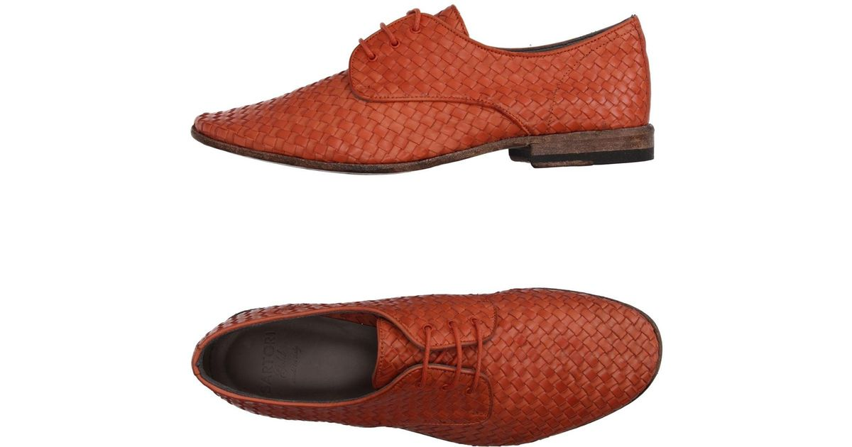 Sartori Chaussures À Lacets Or DyABEY