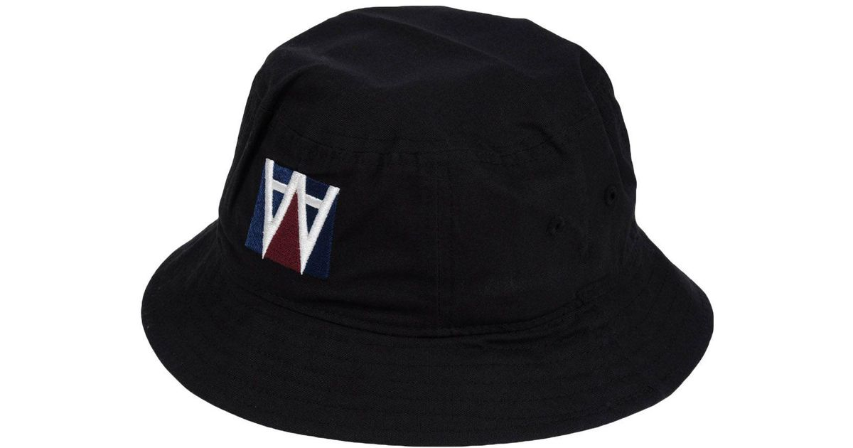 Lyst - Wood Wood Hat in Black for Men 7858bf0ca931