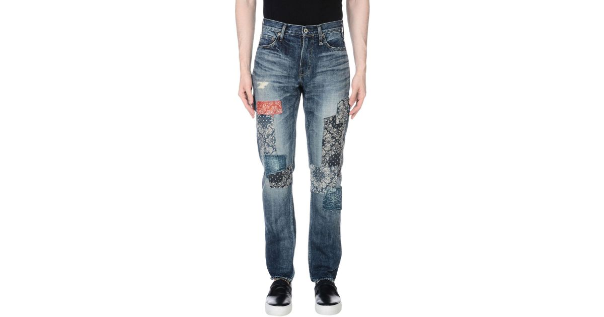 How Much Cheap Online cropped straight-leg jeans - Blue Fdmtl Professional Online Multi Coloured buu6yCRn