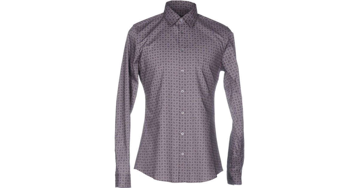 7e3ec94aa ... Gucci Clothing Men Shirt: Gucci Shirt In Purple For Men