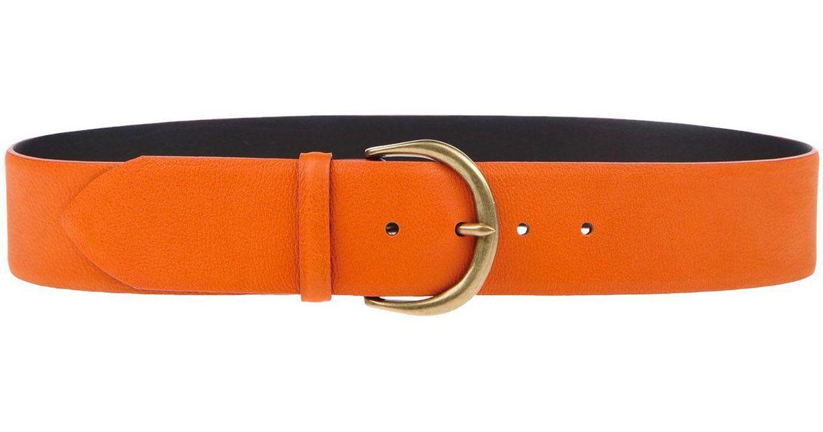 classic belt - Yellow & Orange Orciani i8cQmIk5Ef