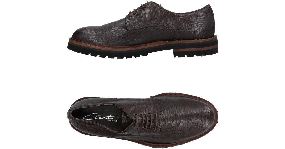 Montezemolo Chaussures À Lacets Tv3Zhkr