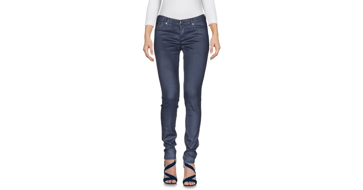 gas denim trousers in blue lyst