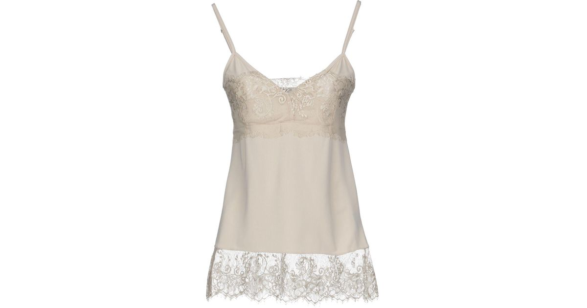 Lyst - Hotel Particulier Top in Natural 5f7a959c7eb