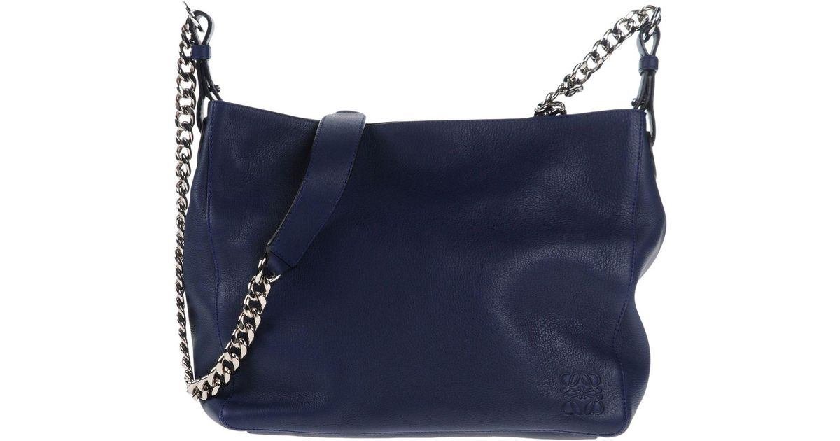 6db5a5293451 Lyst - Loewe Cross-body Bag in Blue