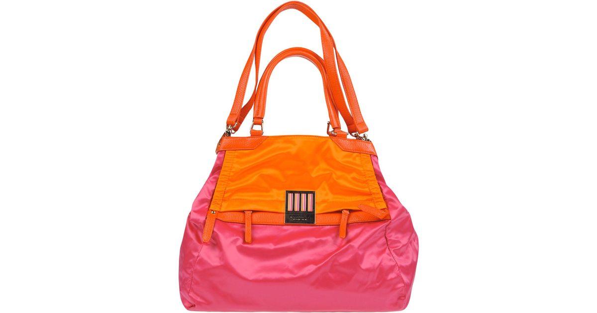 65e69392e524 Lyst - Tosca Blu Handbag in Orange
