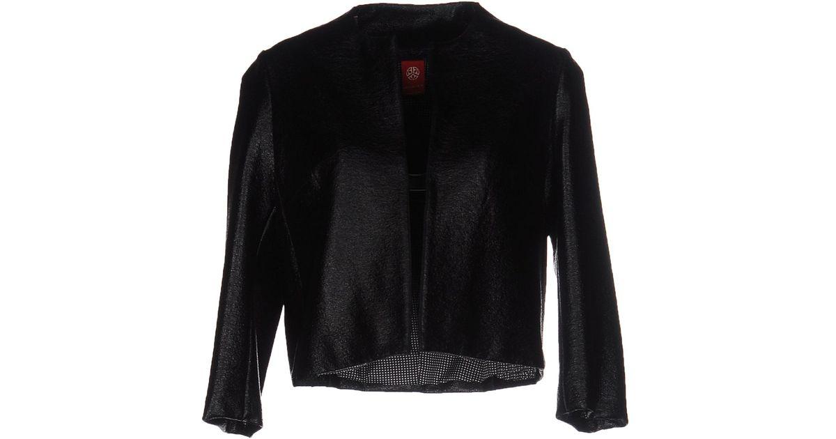 Michelle windheuser Blazer in Black