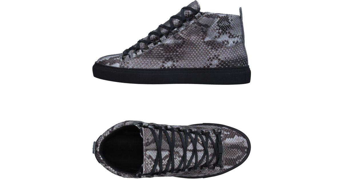 Sneakersamp; Montantes Lyst Balenciaga Tennis Gray tQrdhxsC