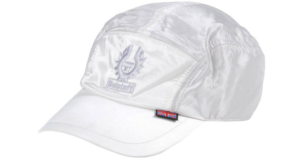 Lyst - Belstaff Hat in White for Men 4f91b313abd