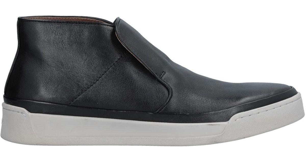 88af0b7d461 John Varvatos Remy Mid (mineral Black) Men s Slip On Shoes in Black for Men  - Lyst