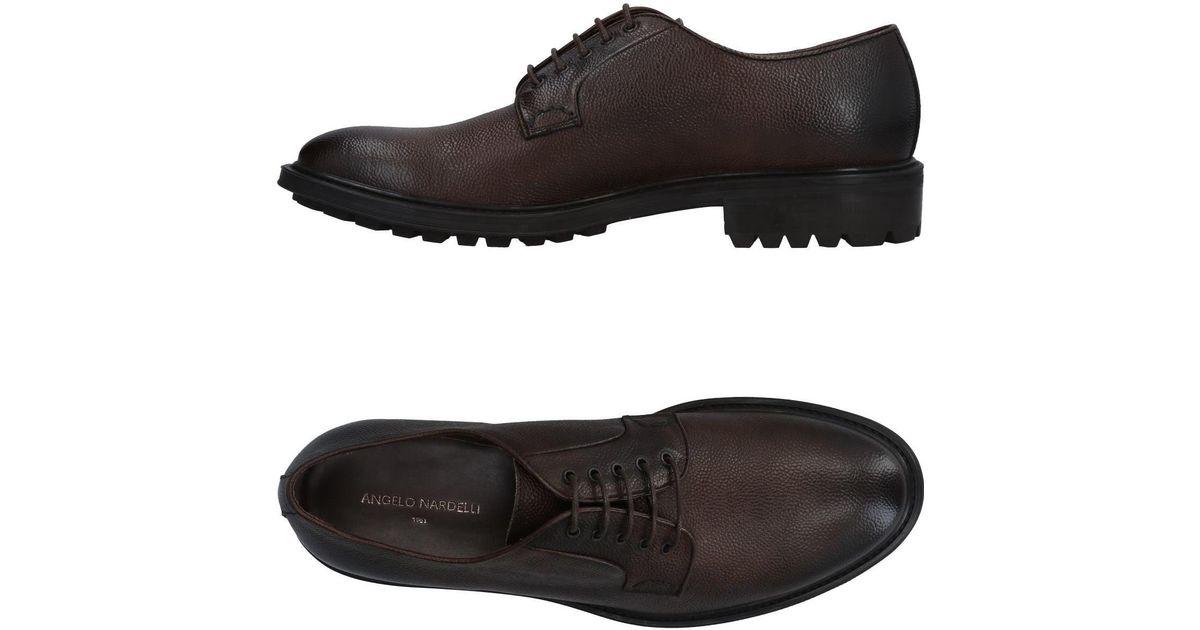 FOOTWEAR - Lace-up shoes Angelo Nardelli yAeGsuWfh6