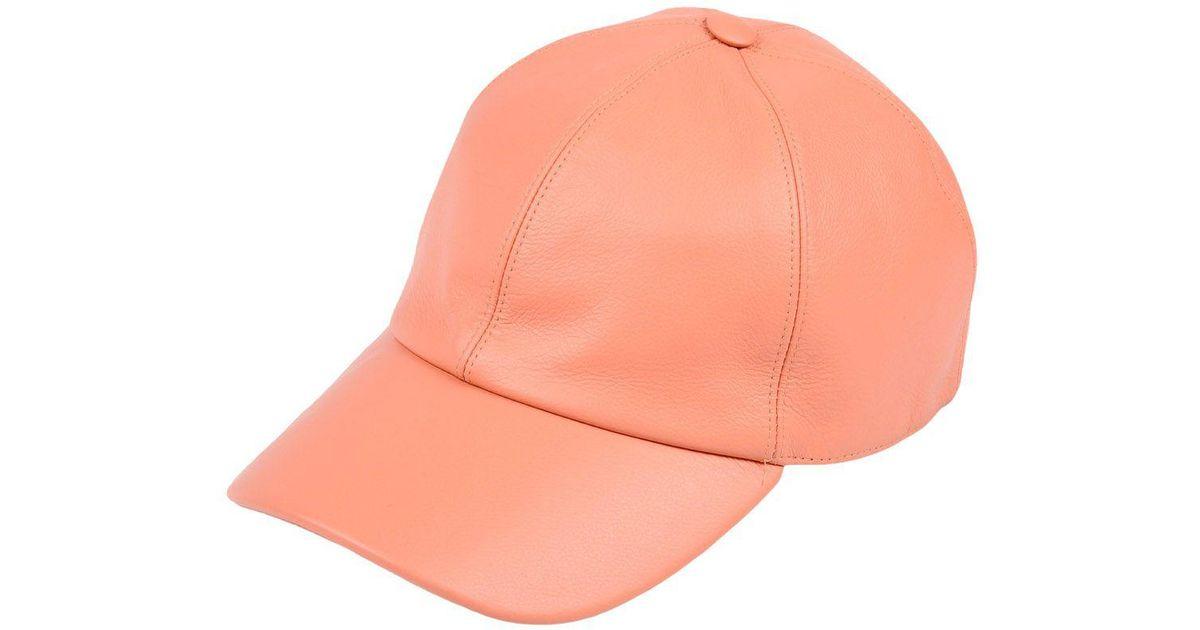 Lyst - Umit Benan Hat in Pink for Men d9ac171919b