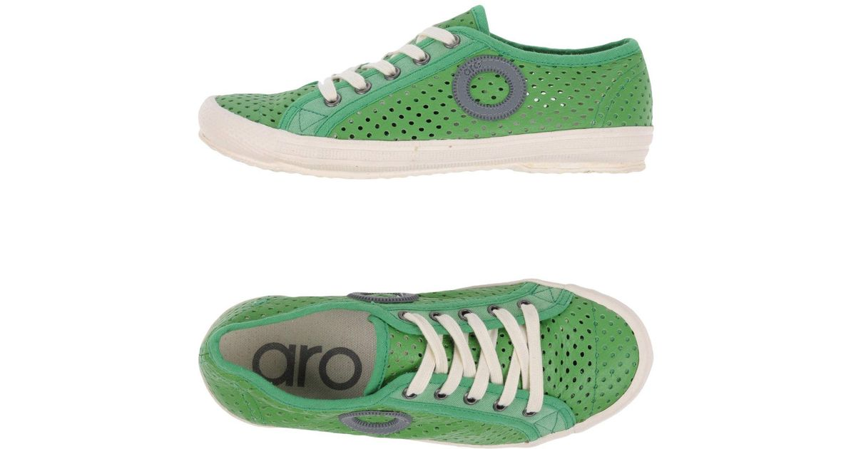 Sneakers amp; For Green In Tops Lyst Aro Men Low 7nxAAB