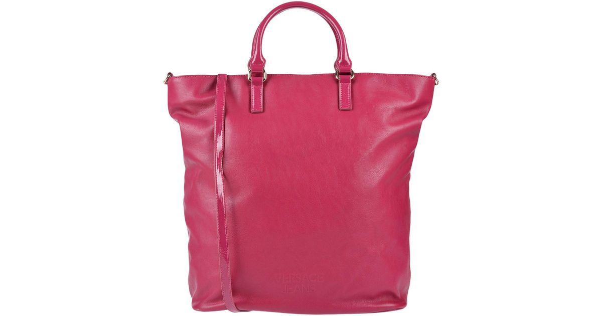 Versace Jeans Cross-body Bag in Pink - Lyst 29681f462bbc0