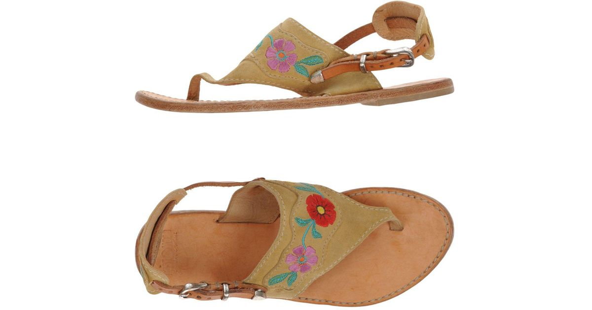 FOOTWEAR - Toe post sandals Rust Mood Free Shipping Newest R0pcEW