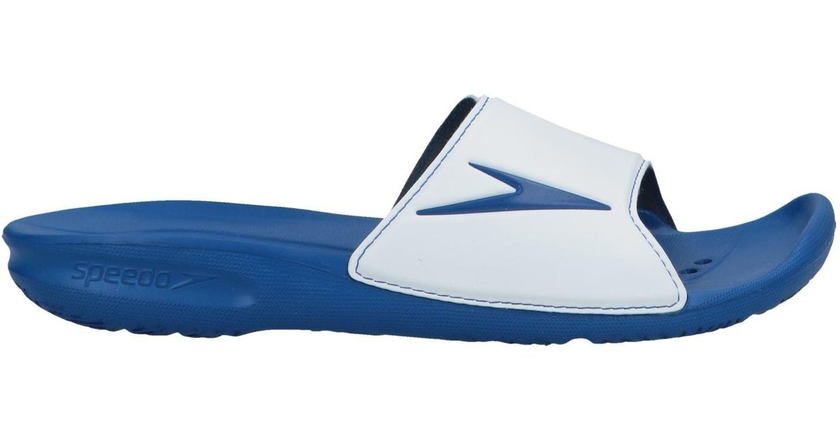 5d2734dcd3b Lyst - Speedo Slippers in White for Men