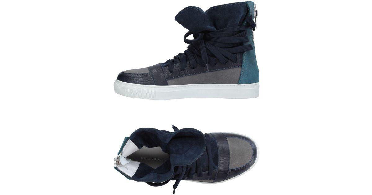 bbd254c7d31276 Lyst - Kris Van Assche High-tops   Sneakers in Gray for Men