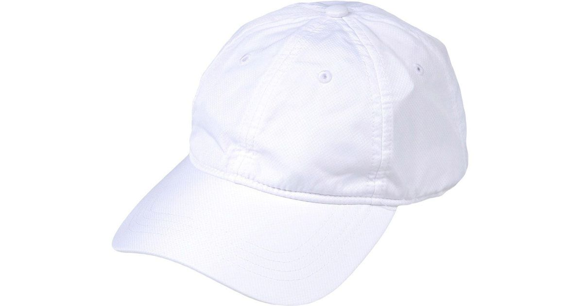 cc6e50628e Chapeau Lacoste Sport pour homme en coloris Blanc - Lyst