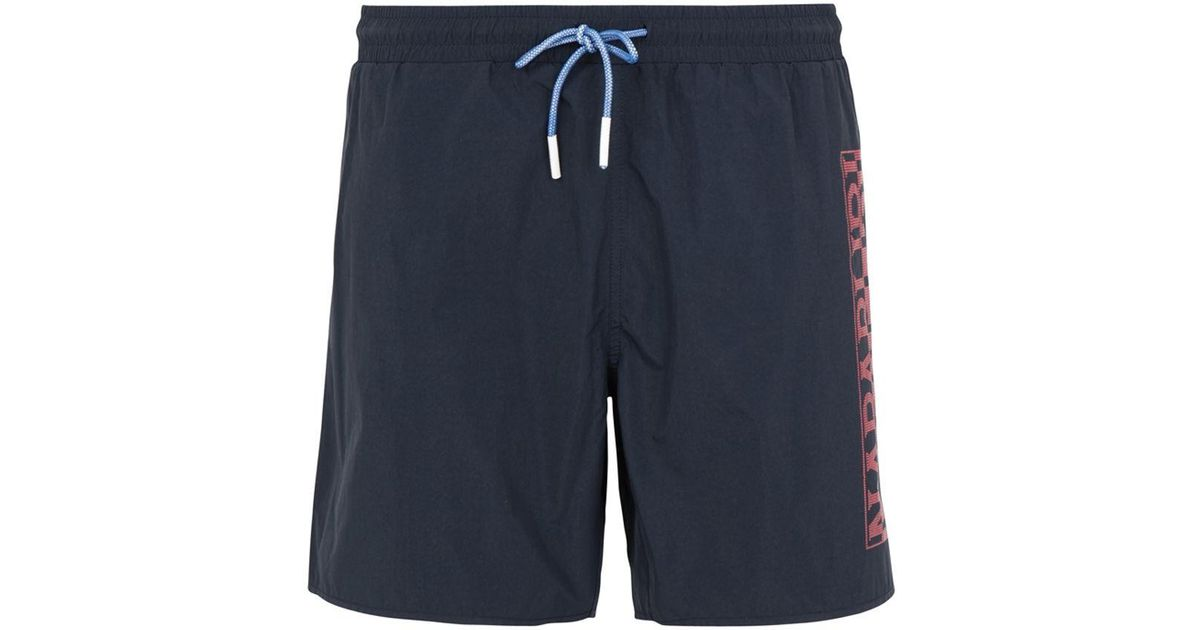 meilleure vente code promo joli design Napapijri - Blue Short de bain for Men - Lyst