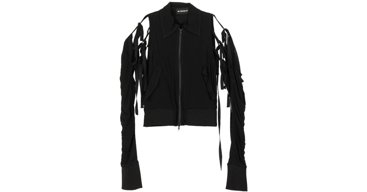95db3740d85 Ann Demeulemeester Jacket in Black - Lyst