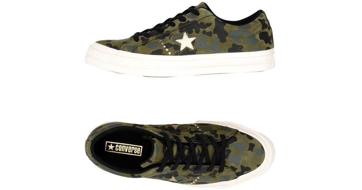 cheap for discount ec6fc 9a5ad Lyst - Sneakers  Deportivas Converse de color Verde