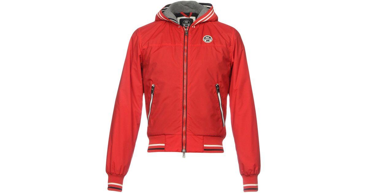 lyst north sails jacket in red for men. Black Bedroom Furniture Sets. Home Design Ideas