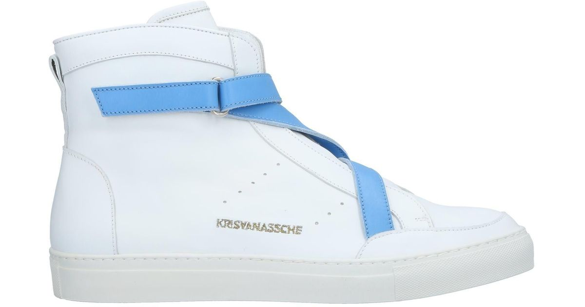 60ad3ec108319d Kris Van Assche High-tops   Sneakers in White for Men - Lyst