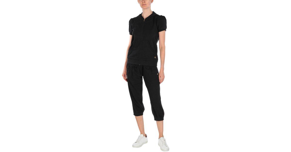 Lyst Adidas Sweatsuit In Black