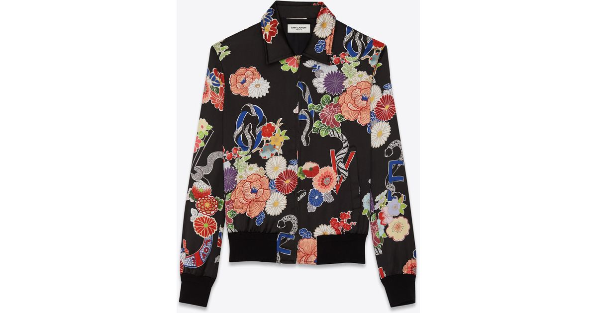 5f43fae9de2cd Jacket Love Saint Printed Teddy Laurent Iqvgz