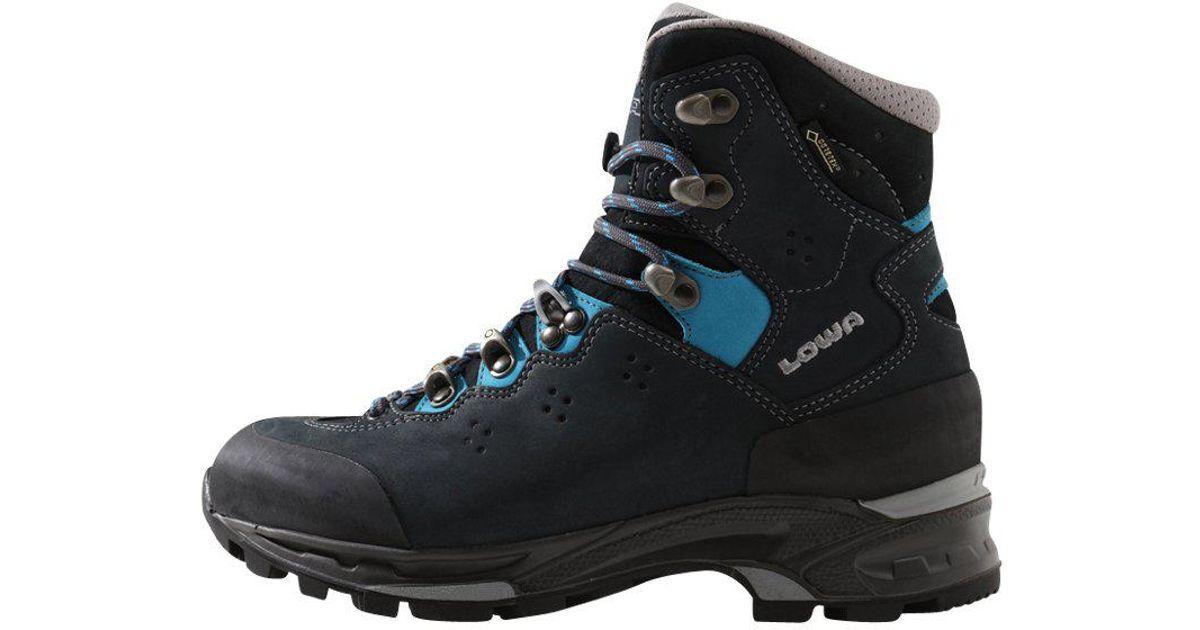 Lowa LAVENA II GTX - Walking boots - navy/türkis ZHPHj6DZB5