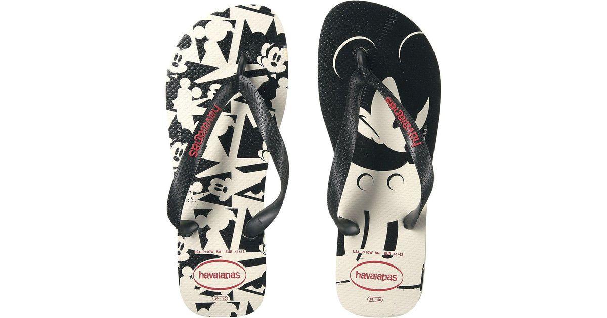 b2a95eb09 Lyst - Havaianas Disney Stylish Flip Flops in Black