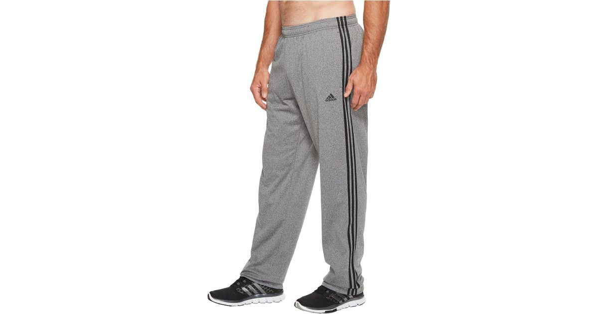 6e449f364 adidas Big Tall Essentials 3-stripes Regular Fit Tricot Pants (black/white)  Men's Casual Pants in Gray for Men - Lyst