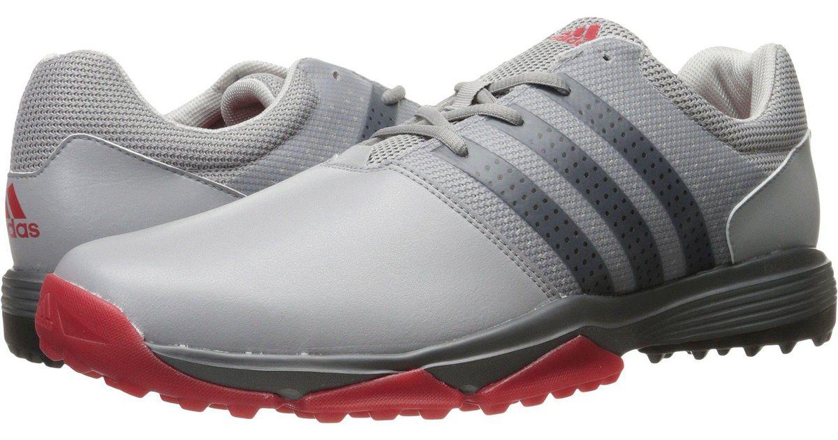 53b87bf1f Lyst - adidas Originals 360 Traxion (light Onix core Black scarlet) Men s  Golf Shoes for Men