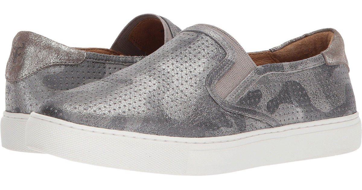 f4182eba4105 Lyst - Trask Lillian (ivory Italian Sheepskin ivory) Women s Slip On Shoes  in Gray