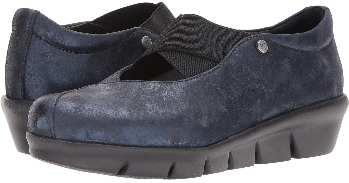 098c89e8cd9 Lyst - Wolky Cursa (navy Amalia) Women s Slip On Shoes in Blue