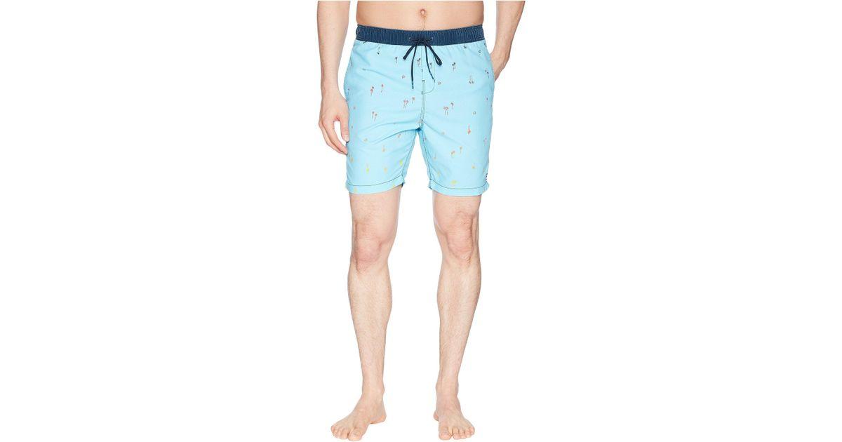 51d42f5bca Billabong Sundays Swim Shorts 16 Inch In Blue in Blue for Men - Lyst