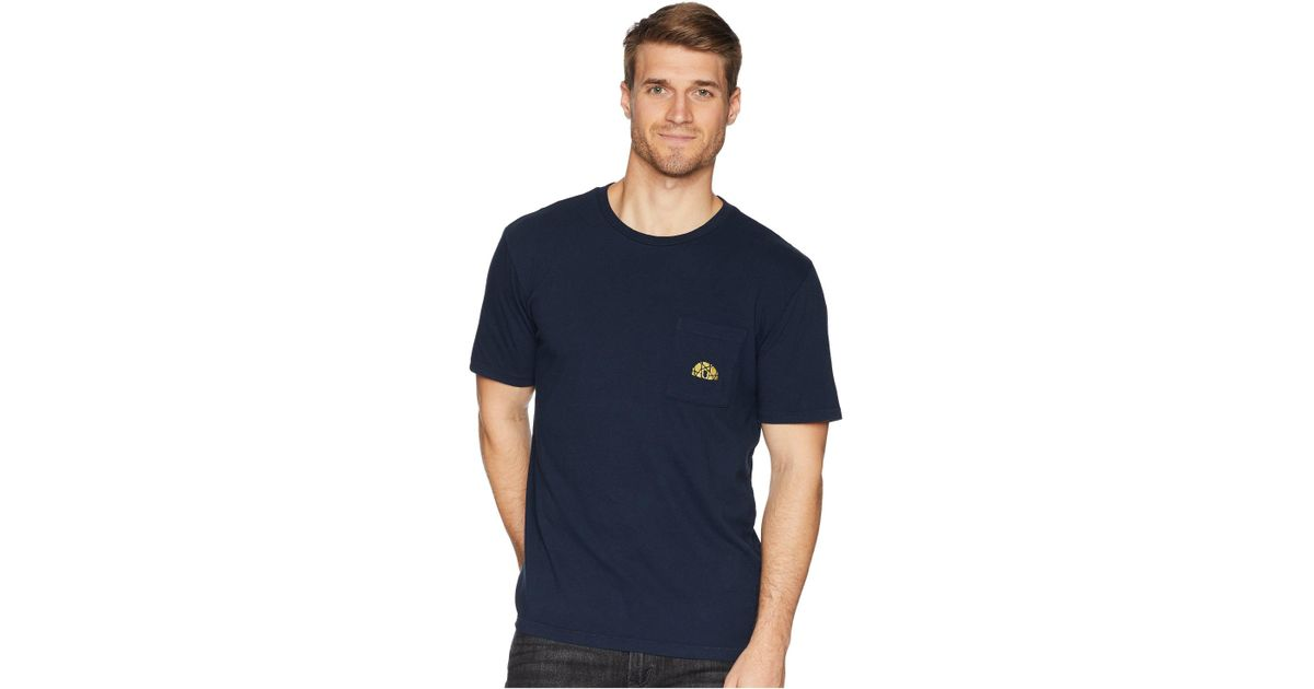 e6ed85c4ee43 The North Face Well-loved Pocket Tee (urban Navy) T Shirt in Blue for Men -  Save 19% - Lyst