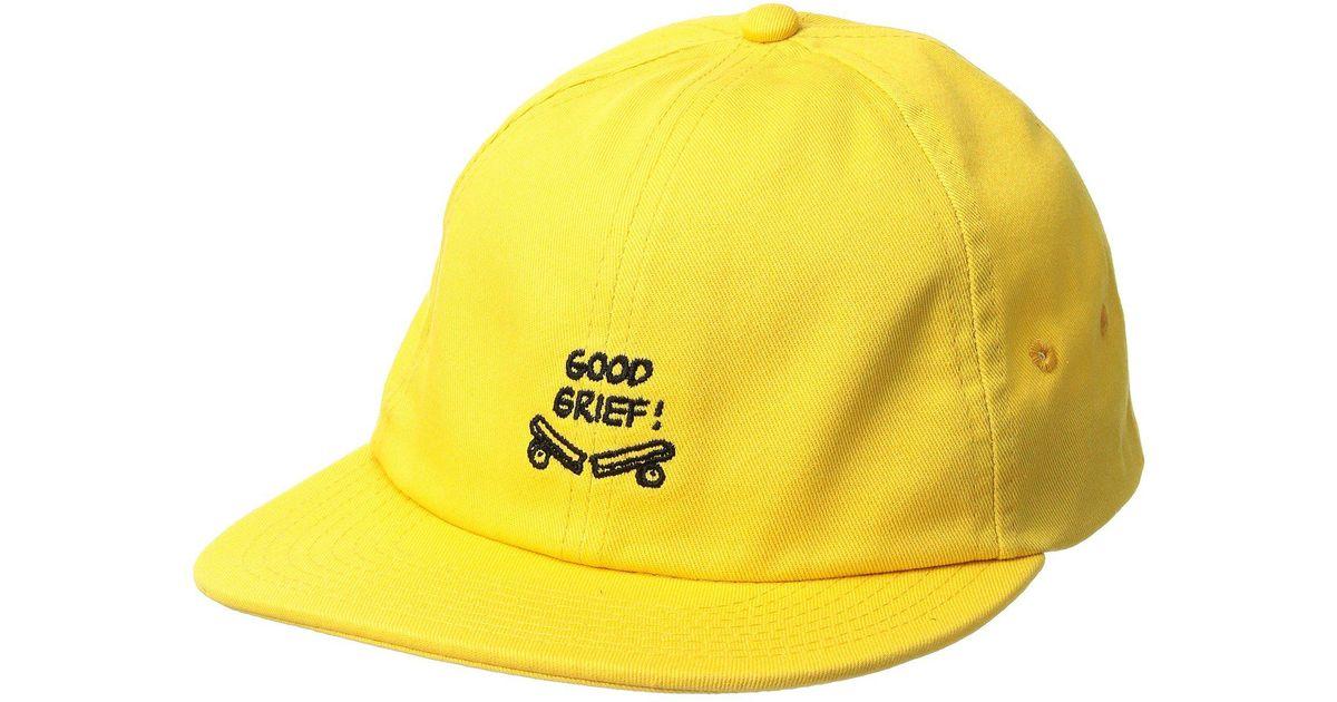 842cb38157c Lyst - Vans X Peanuts Jockey in Yellow for Men
