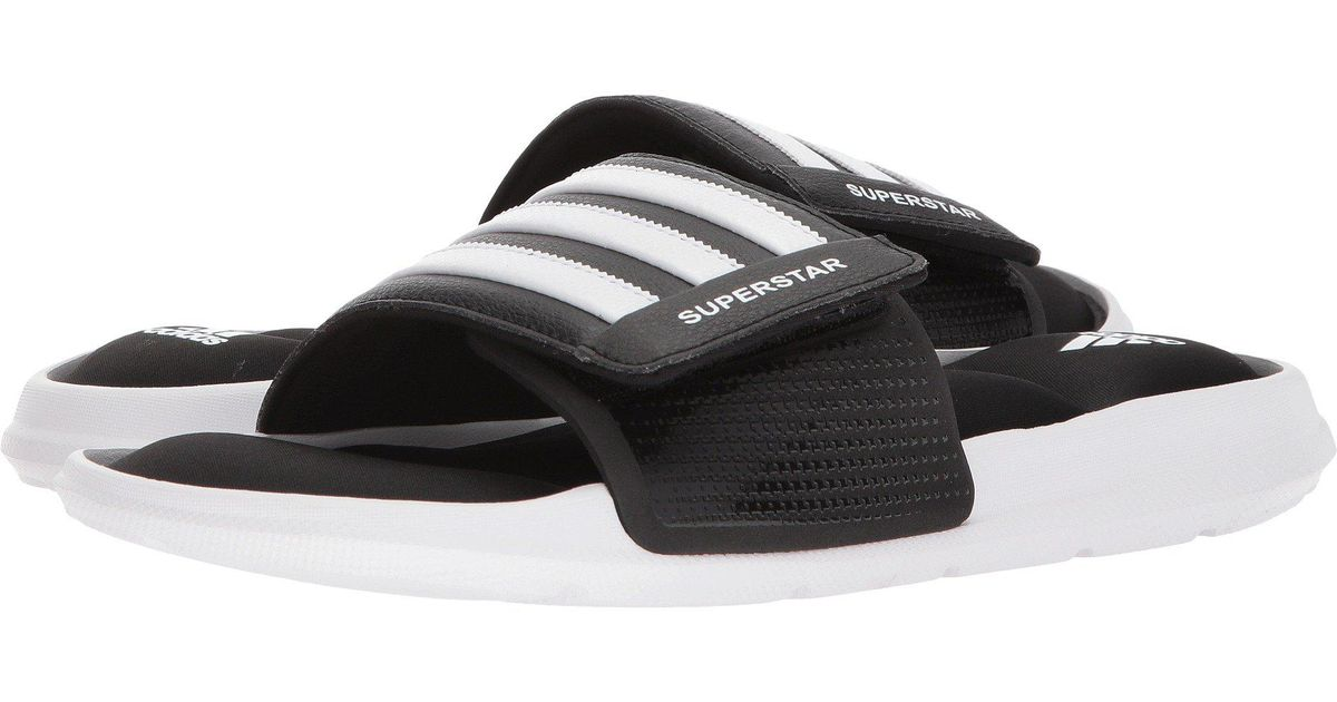 6f34d9a1fa70d0 Lyst - adidas Superstar 5g (black white black) Men s Slide Shoes in Black  for Men - Save 14%