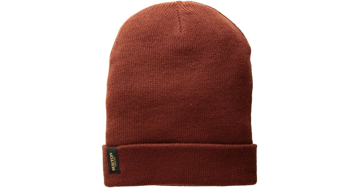 0efd3f4a2d0 Lyst - Burton Kactusbunch Beanie (faded 1) Beanies in Red for Men