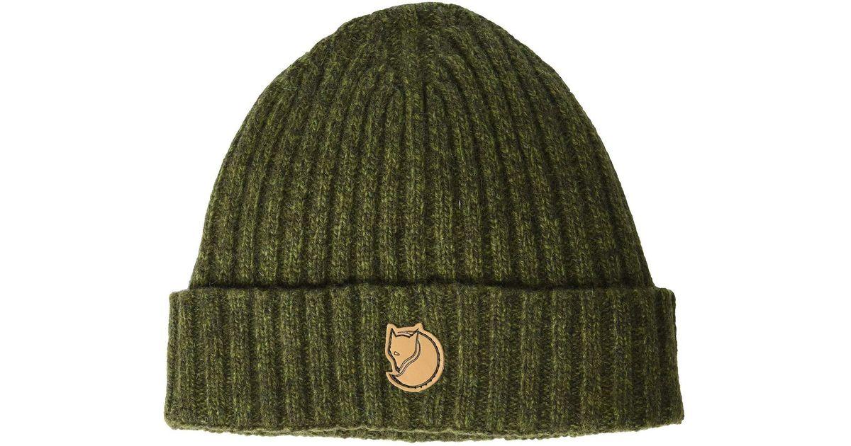 89e99d6e2c972 Fjallraven Re-wool Hat (grey) Caps in Green for Men - Lyst