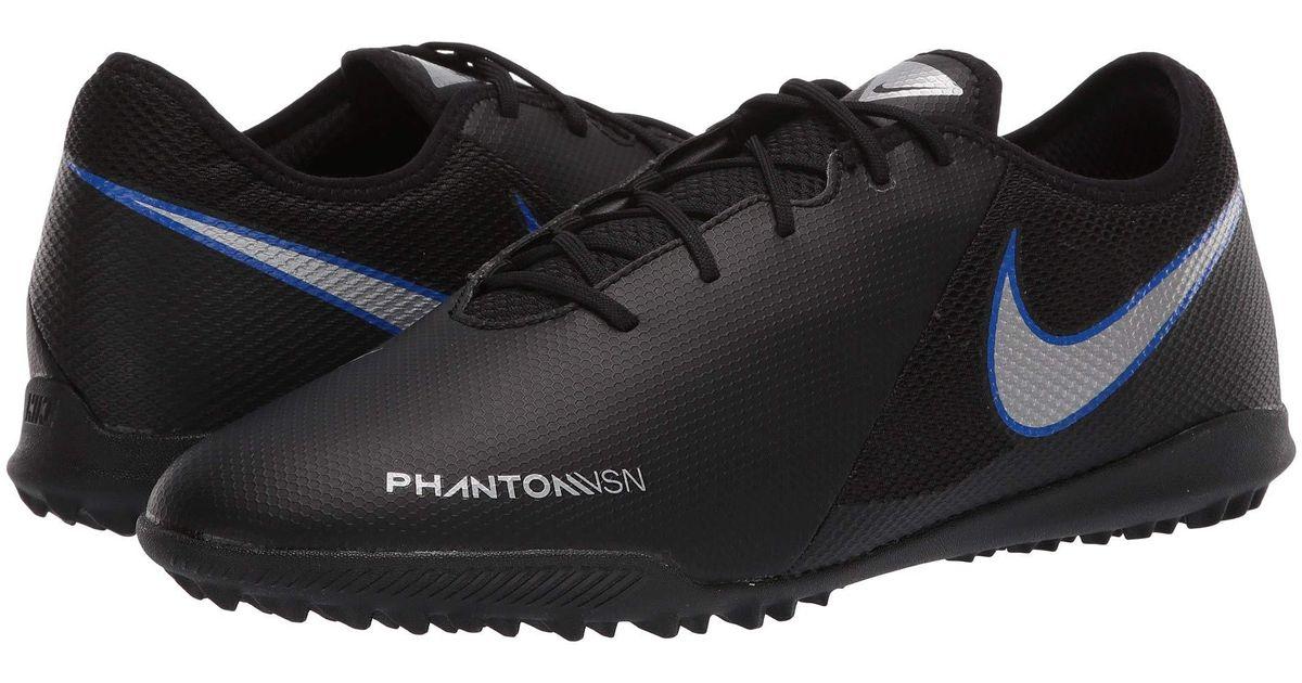 b555a9642c3 Nike Phantom Vsn Academy Tf (black metallic Silver racer Blue) Men s Soccer  Shoes in Metallic for Men - Lyst