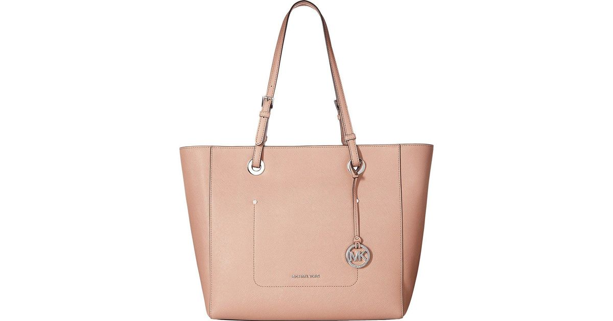 03e6b89dd51a MICHAEL Michael Kors Walsh Large East/west Top Zip Tote - Lyst