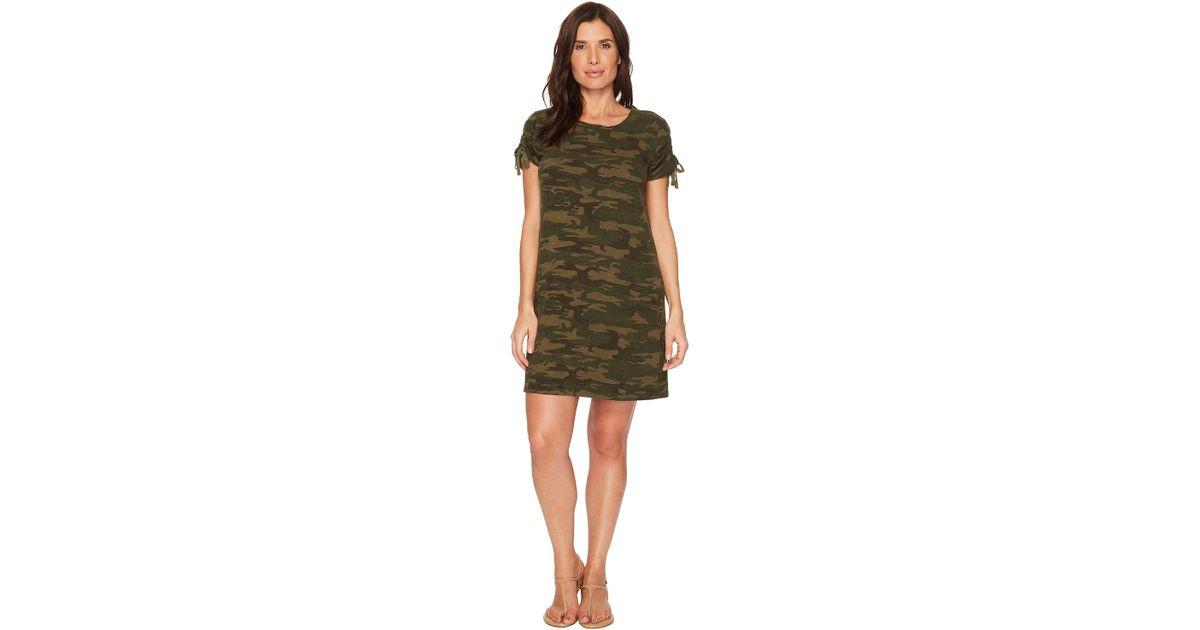 ff25f935ab7 Lyst - Sanctuary Ojai Camo T-shirt Dress (mother Nature Camo) Women s Dress  in Green